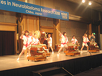 ANR 2008 Chiba Japan Taiko Drummers Performance